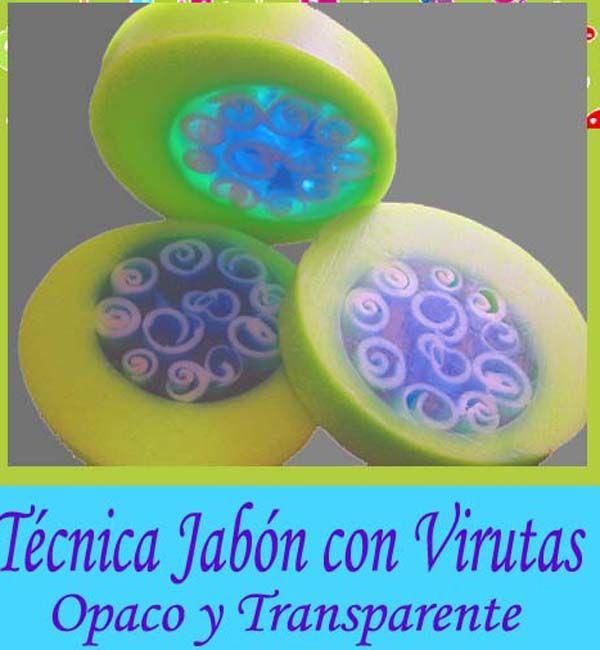 Hacer jabon con virutas opaco y transparente. Si te gusta hacer jabones artesanales, no te puedes perder este diseño. Es muy chulo y muy fácil de hacer!