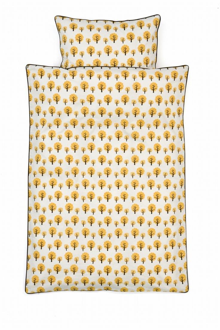 Dotty Bedding Yellow - Ferm Living