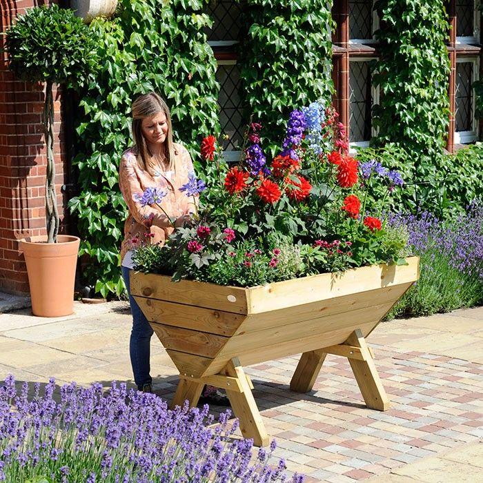 Large 1 Metre Wooden Garden Planter Box Trough Herb: 1000+ Ideas About Trough Planters On Pinterest