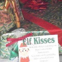 Elf Kisses poem, Free Printable. | Craft Ideas | Pinterest | Elves ...