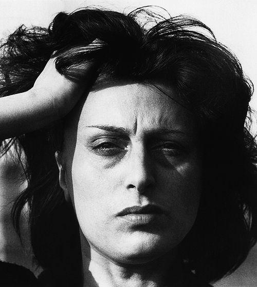 """Anna #Magnani. Prima italiana a vincere il premio #Oscar come migliore attrice protagonista per l'interpretazione nel film """"La Rosa Tatuata"""". Il suo nome è impresso sulla #Hollywood Walk of Fame.  #Expo2015   Made of #Italians"""