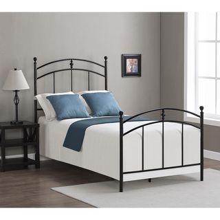 dimensions pogo black licorice finish twin size bed frame pogo twin size bed black - Bed Frame Deals