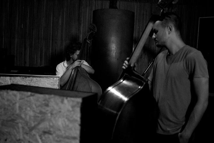 "Erase - album ""new and old dreams"" - recorded in 2012 in Warsaw.   Erase Quartet  Michał Trela – drums Gerard Lebik- saxophone Max Mucha – bass Jakub Mielcarek – bass jazz band, jazz music Photo by Marta Rybicka"