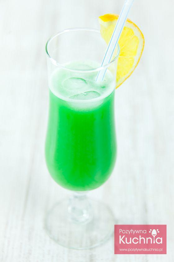 #drink zielona żabka - #przepis krok po kroku  http://pozytywnakuchnia.pl/zielona-zabka/  #kuchnia