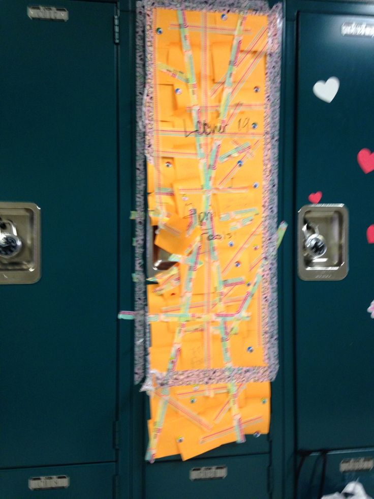Locker pranks ~Caroline.bposts~