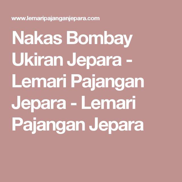 Nakas Bombay Ukiran Jepara - Lemari Pajangan Jepara - Lemari Pajangan Jepara