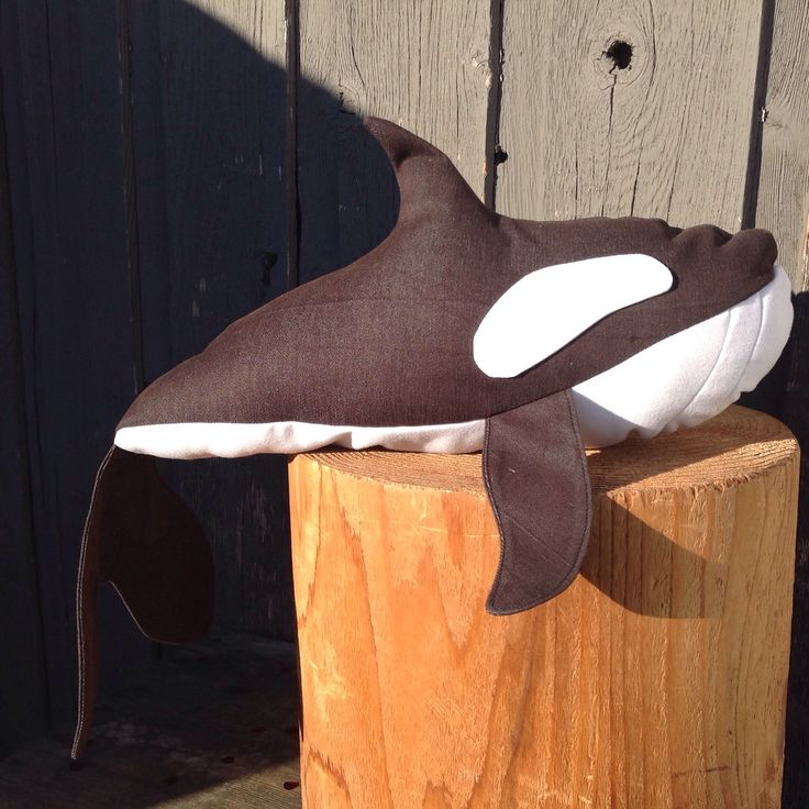 Kenu the Killer Whale by 0815 on Etsy https://www.etsy.com/listing/218480727/kenu-the-killer-whale
