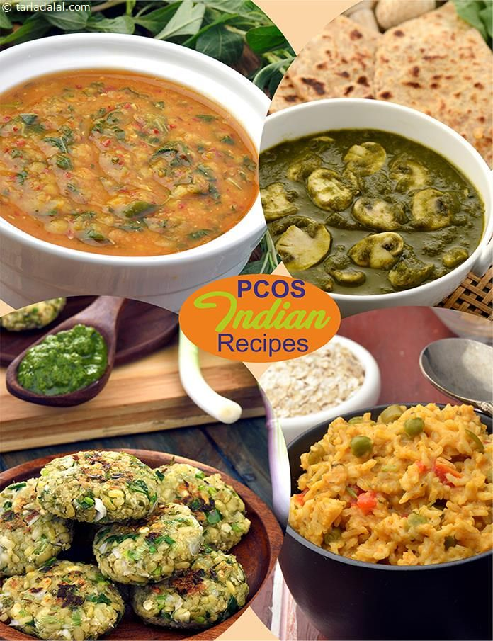 Pcos Indian Recipes Polycystic Ovary Syndrome Veg Recipes