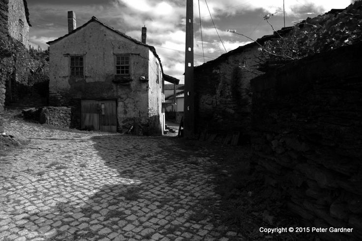An old village in the Trás-os-Montes region of northern Portugal