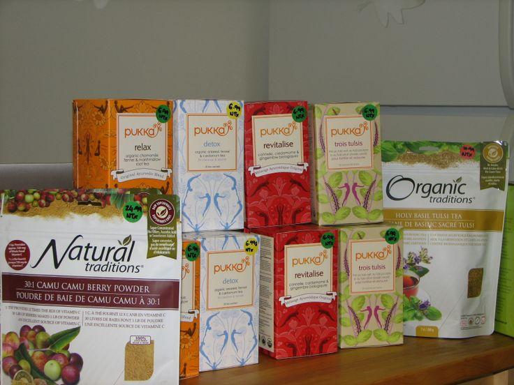 Produits vendus à la Clinique Santé!