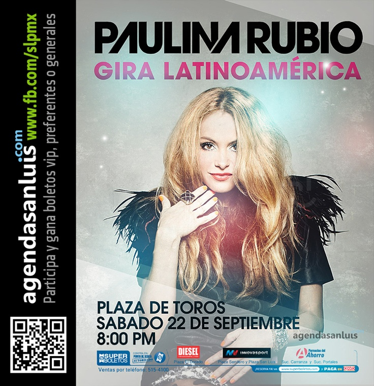 Promo Vip para Paulina Rubio