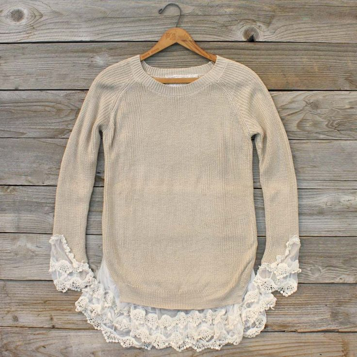 Sweaters With Lace