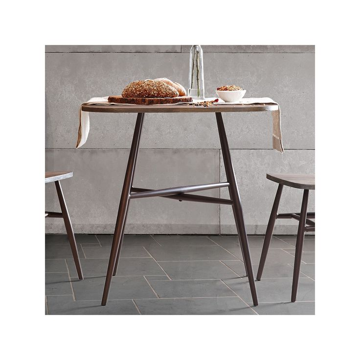 Ink+ivy Cafe Counter Height Dining Table, Grey