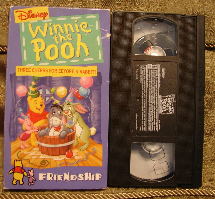 Three Cheers For Eeyore And Rabbit (VHS