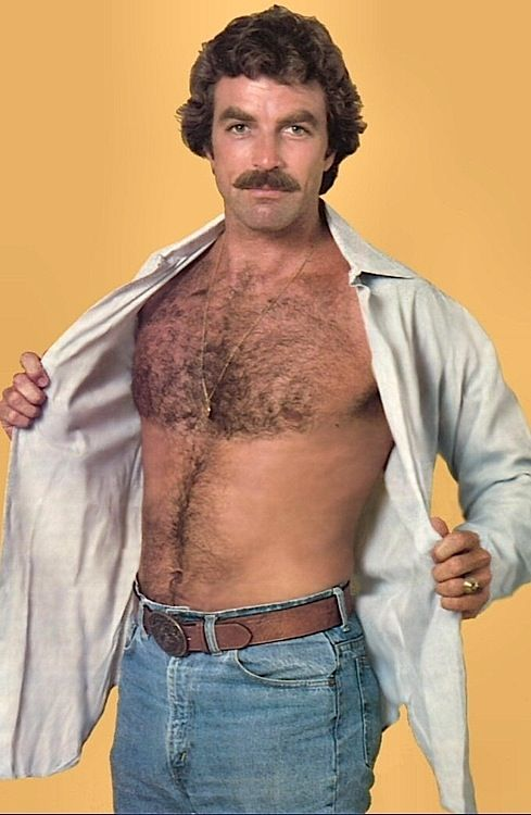 Tom Selleck  aka Magnum P.I. Thanks Thomas for a lot of really great fantasies
