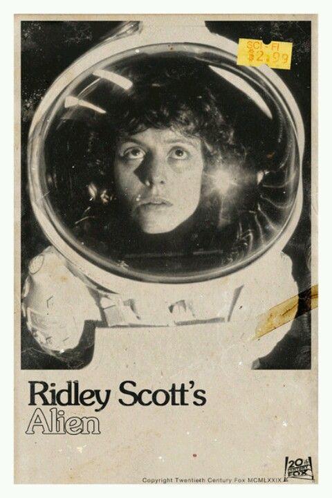Ripley / Sigourney Weaver, Alien (1979) by ridley scott