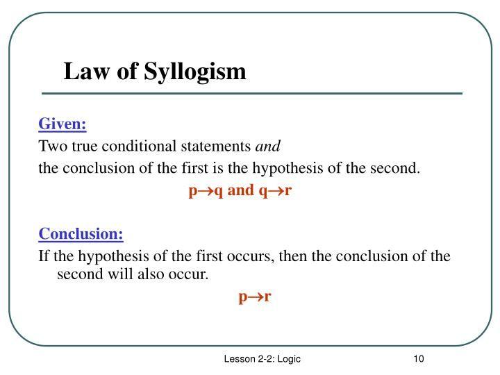 Syllogisms And Logic Worksheet Phoenix