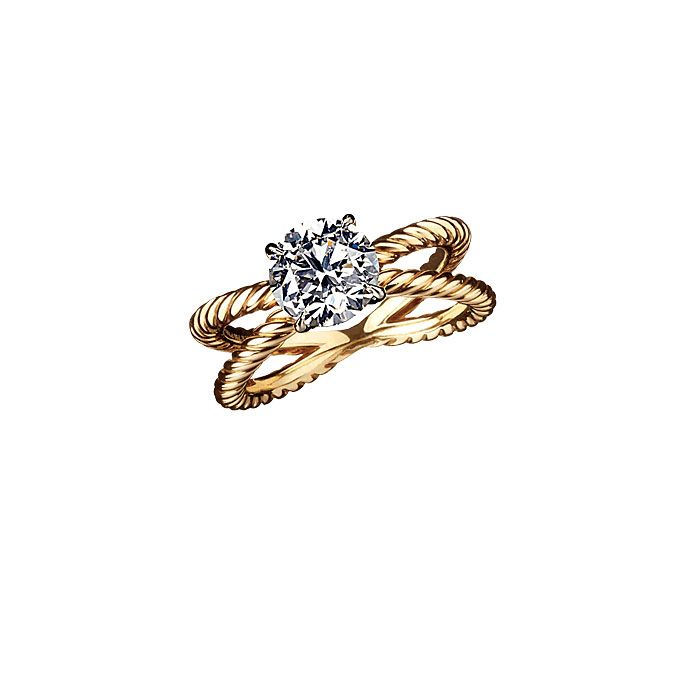 David Yurman engagement ring! Absolutely perfect!