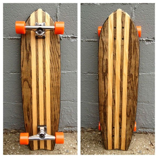 Well-Thought Hostess Gifts from Veranda Magazine: this cool longboard skateboard