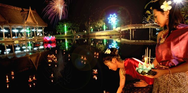 Bang Sai Loi Krathong Tam Prathip Festival, Phra Nakhon Si Ayutthaya Province, Thailand   NonPeakTravel.com