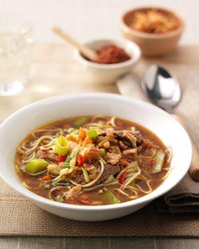 Sajoer groente soep