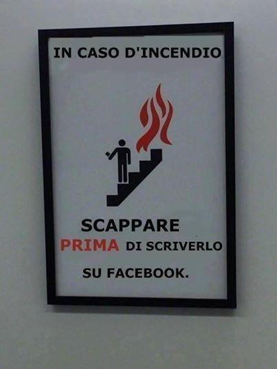 Vero, ormai su facebook c'è la vita di tutti!!