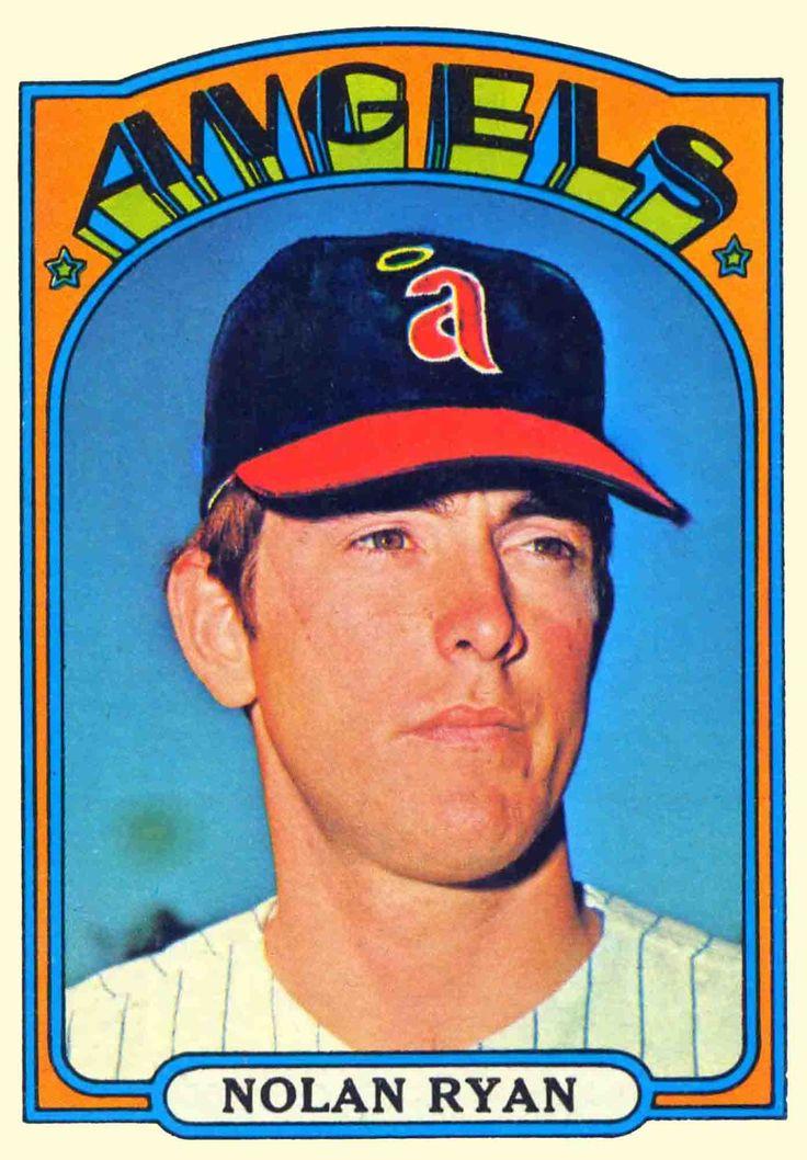 1972 Topps Nolan Ryan, California Angels Baseball cards
