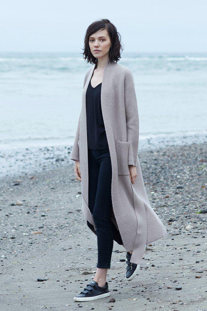 Amour Vert Arya Sweater Coat