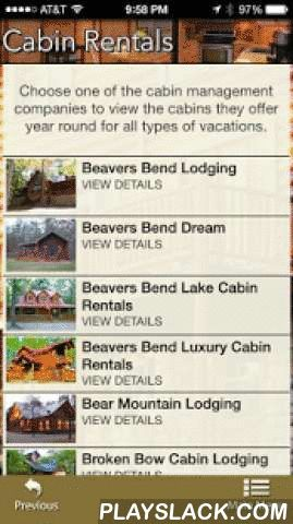 BB Cabin Finder & Attractions  Android App - playslack.com ,  Looking for a Broken Bow Oklahoma vacation cabin in SE Oklahoma near Broken Bow Lake and Beavers Bend State Park. View our list of preferred cabin management companies that provide 1 to 4+ bedroom cabins from economy to luxury cabins, They are equipped with a variety of amenities.Once you reserve your cabin near Beavers Bend State Park, Our Things To Do directories will give you the information you need to find all types of…
