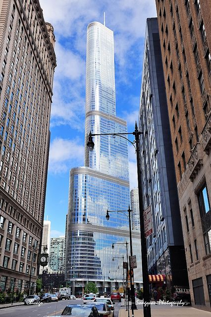 Trump Tower Chicago, gotta respect the Don #glennlaken # ...