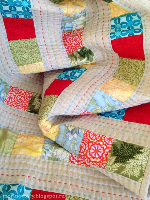 Morinostory: Моё льняное одеяло