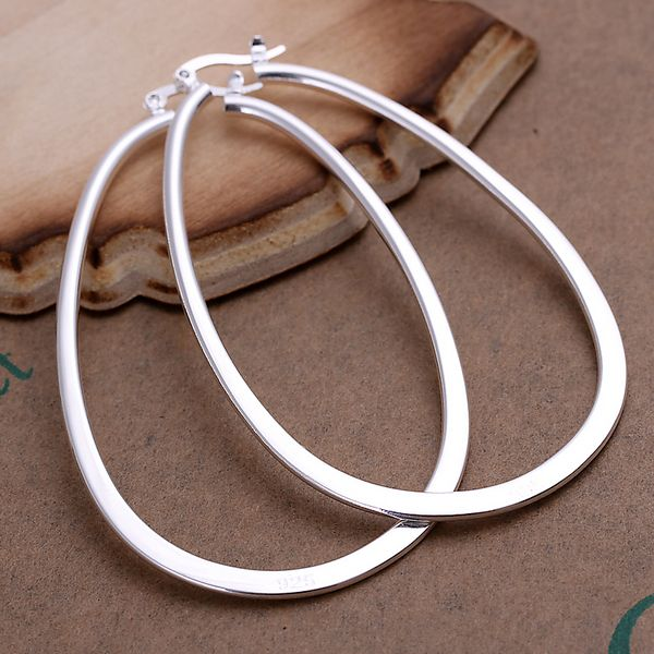 New! Wholesale Free shipping 925 sterling round earring, silver jewelry SPE001 $3.99