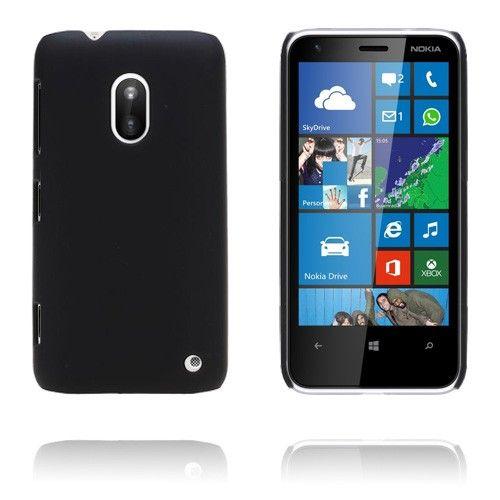 Hard Shell (Musta) Nokia Lumia 620 Suojakuori - http://lux-case.fi/hard-shell-musta-nokia-lumia-620-kotelo.html