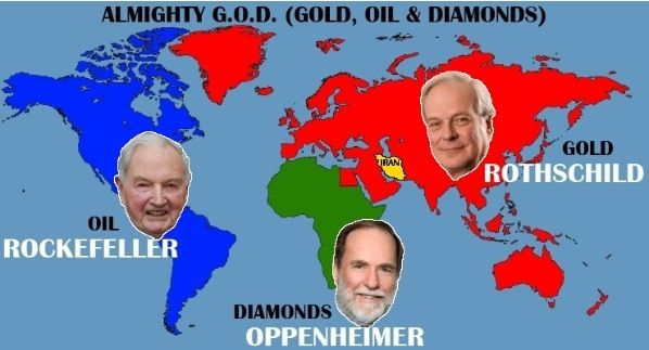 Top three elites who govern over the world. Know your enemy!!! This does have an impact on our daily lives!!!