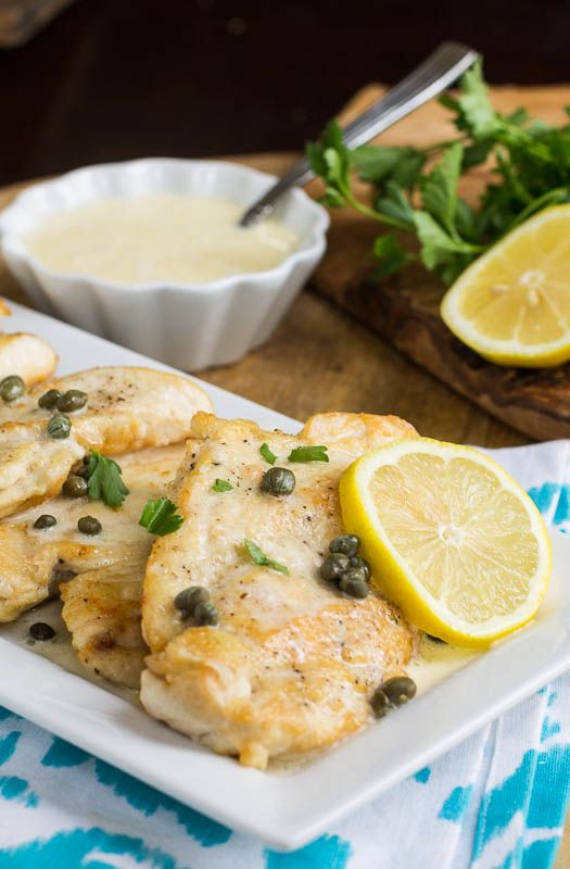 Chicken with Lemon Cream Sauce (Buca di Beppo copycat) by spicysouthernkitchen #Chicken #Lemon
