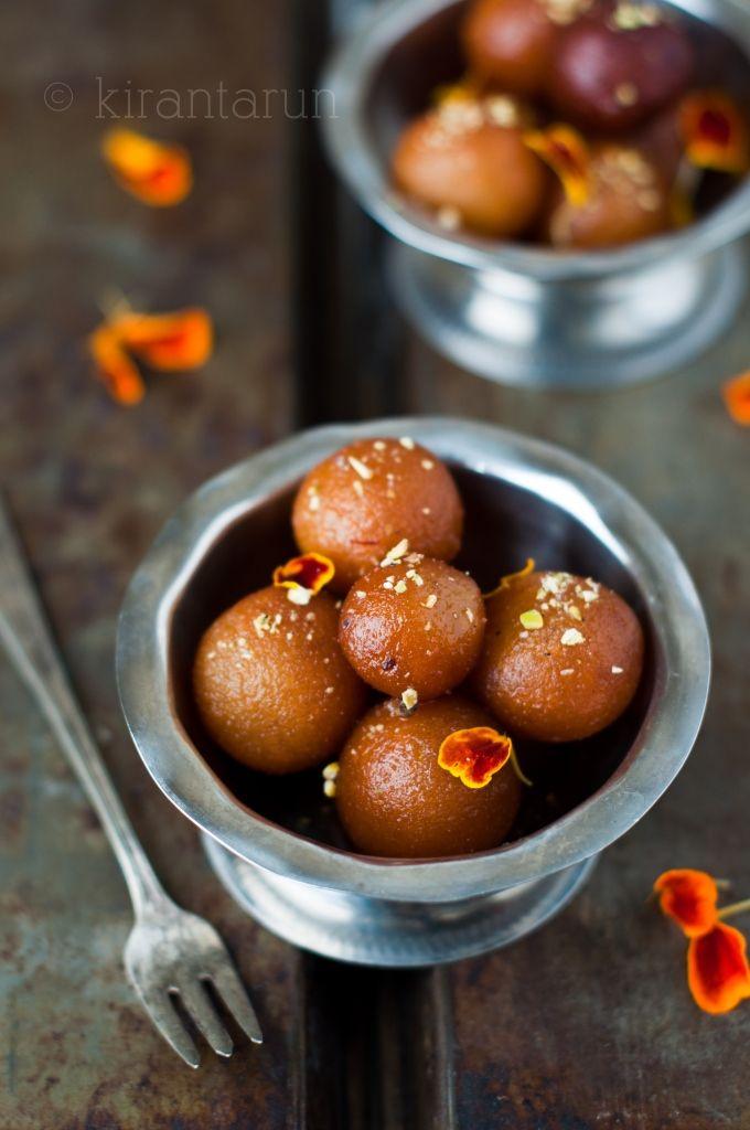 Coconut Cream Gulab Jamuns [Kiran Tarun] // My favorite Indian dessert!