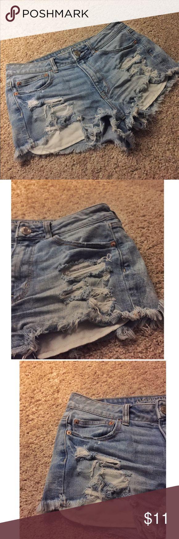 High-Rise Festival Shorts American Eagle Outfitters high rise festival shorts 🌼 American Eagle Outfitters Shorts Jean Shorts