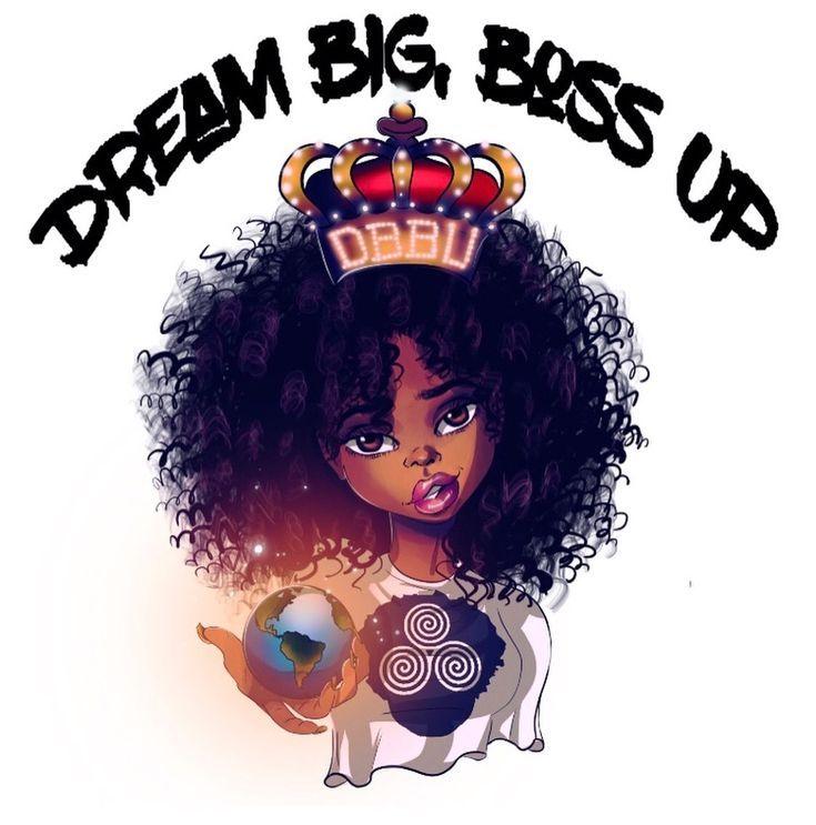 T-shirt Colorful Afro Premium Design Love to Dream Black girl Magic