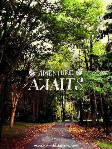 Find your adventure xx   #lornajane #movenourishbelieve