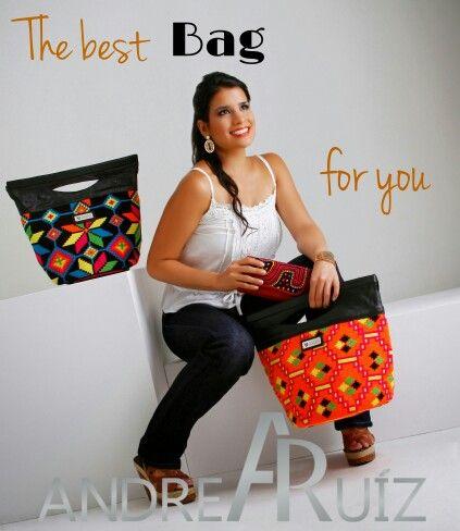 Handbag Maleiwa by Andrea Ruíz