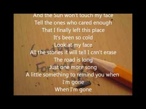 Image Result For Staind Something To Remind You Lyrics Metrolyrics