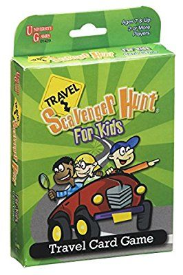 Scavenger Hunt for Kids Travel