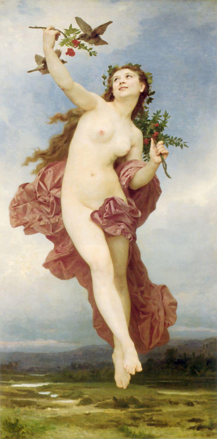 En la mitología griega, Hemera (en griego antiguo Ἡμέρα Hêméra, 'día') era una diosa primordial (Protogonos) y la personificación femenina del día. También era llamada Amar (Αμαρ, 'día').  Hemera, por William-Adolphe Bouguereau (1884)