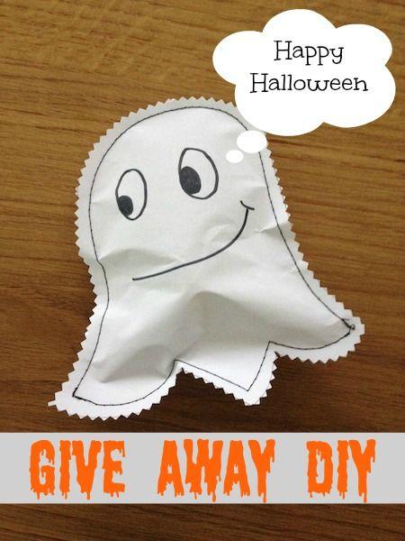 Happy Halloween, basteln, Halloween give away