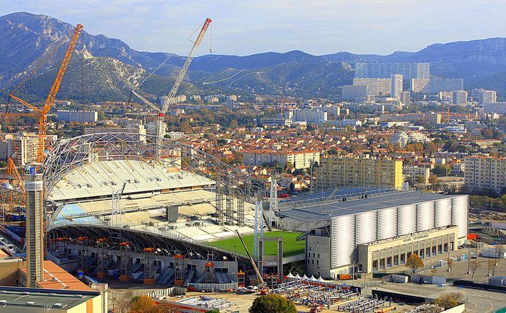 stade velodrome projet Suivez lintégralité du chantier du stade vélodrome à Marseille en direct