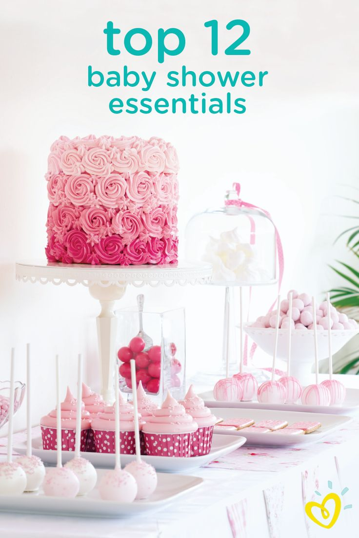 "Throwing a baby shower for your best friend? Make sure you have everything you need with these top 12 baby shower essentials. From the location to the little ""extras"" for making mom-to-be feel special, this list can help you design a successful and memorable party."