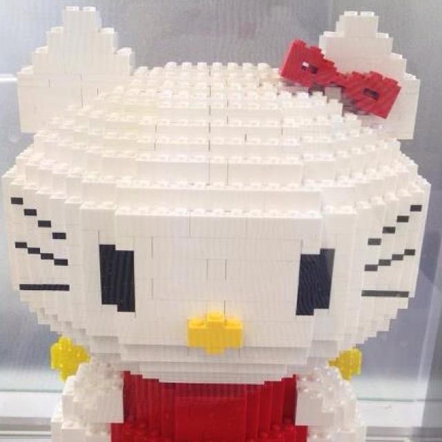 315 best lego images on pinterest legos lego stuff and - Lego hello kitty maison ...