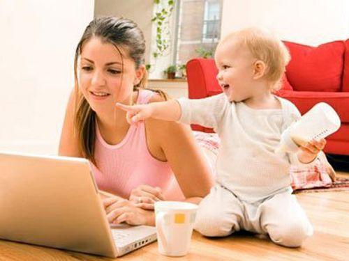 Работа для мам в декрете, которую можно делать на дому.