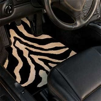 Image result for car accessories cheetah print car mats