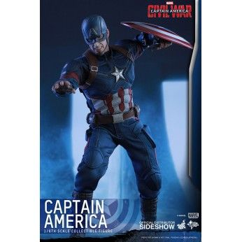 order this Hot Toys Action figure now. flexible payment options and FREE EU shipping. This Captain America figure stands at 31cm and is 1/6 scale fully posable